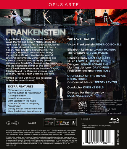 Lowell Liebermann - Frankenstein (2017) [Blu-ray]