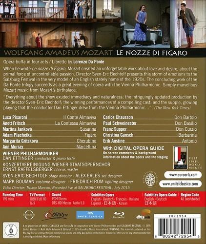 Wolfgang Amadeus Mozart - Le nozze di Figaro (2016) [ BDRip 1080p]