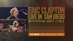 Eric Clapton - Live in San Diego with Special Guest JJ Cale (2017) [Blu-ray]