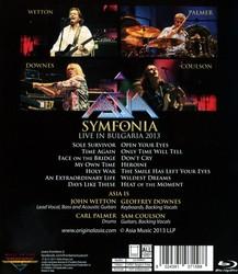 Asia: Symfonia - Live in Bulgaria 2013 (2017) [Blu-ray]