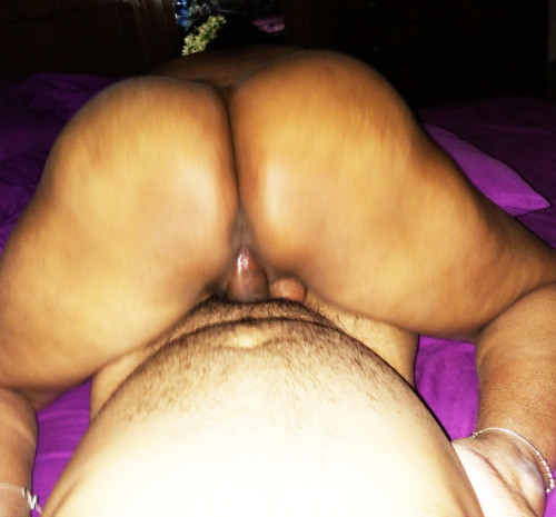 Wife riding naked