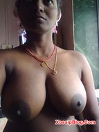 South Indian Wife Big Boobs Show